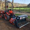 Muratori MZ4 SXL Overtopfrees Met Zaaibak Op Tractor