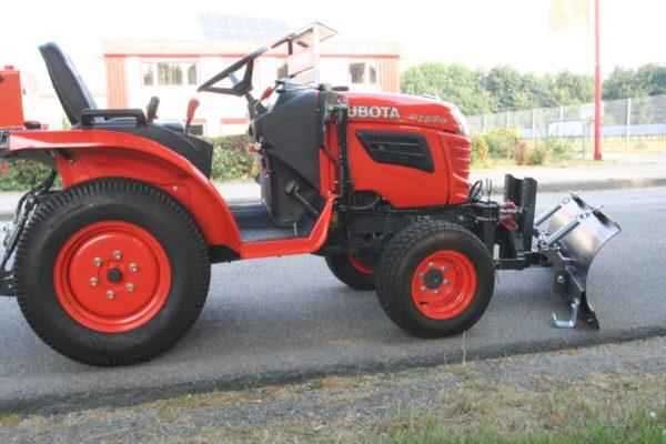 Kersten sneeuwruimschild voor compacte tractoren
