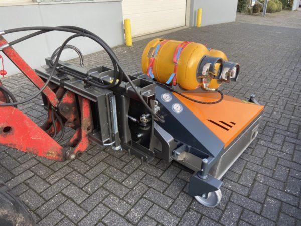 Hoaf Weedair heteluchtschroeier voor tractor of kniklader