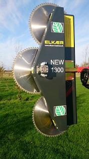 Elkaer HS1300 zaagunit