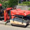 Weedstar 50i op tractor