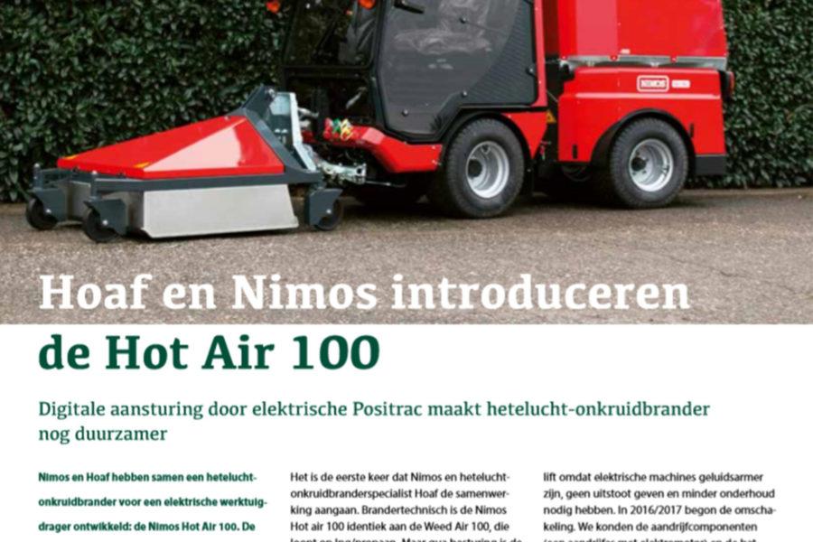 Hoaf En Nimos Introduceren De Hot Air 100